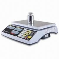Cheap Price Computing Scale with 3 to 30kg Capacity, LCD Display with LED Backlight for sale