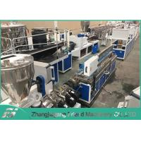 Cheap 25~60 Mm Plastic Profile Production Line Plastic Trunking Equipment Easy Operation for sale