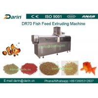 DR70 High Quality Stainless Steel  Floating Fish Feed Double Screw Processing Line