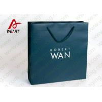 Cheap Soft Touch Film Strong Custom Printed Paper Bags No Minimum Silk Screen Printing for sale
