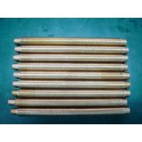 Cheap Steel alloy / brass threaded rod CNC turned precision gears for machinery parts for sale