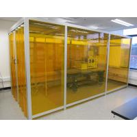 Cheap Adjustable Speed Softwall Clean Room , Filter Cleaning Booth Suspended Or Floor Standing for sale