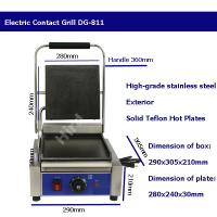 Quality Electric panini grill Contact grill with removable plates Grill panini DG-811 wholesale