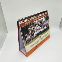 Buy cheap Full Color Printing Custom Desk Calendar With 300G Double Adhesive Tape from wholesalers