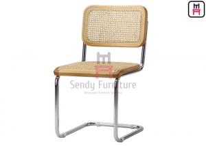 Cheap SS201 Frame PE Rattan Cane Dining Chair 0.37cbm For Restaurant for sale