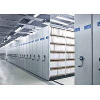 China Spacesaver Library high density Mobile File Shelving Racking System on sale