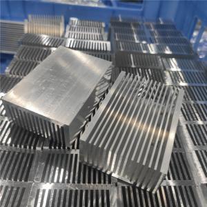Cheap Silver Aluminium Extrusion Heatsink For Power Electronics Heatsink for sale