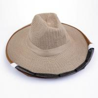 Cheap Cowboy Style Brown Color Bee Hats for Beekeepers of Free Size for sale