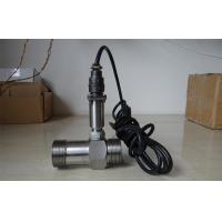 Cheap high pressure Clamping type liquid turbine flow meter for liquid / oil / gas for sale
