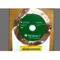 Quality Original DVD Win 7 Basic Home , Windows 7 Retail Version For 1 PC Using wholesale