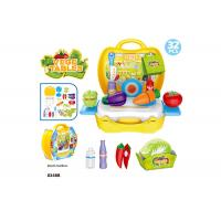 """Cheap 10.3"""" Childrens Toy Kitchen Sets , Colorful Cooking Toys For Kids 32 Pcs for sale"""