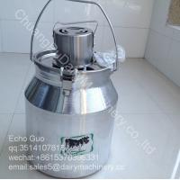 7L Demestic Aluminum Alloy Barrel Milk Mixer Machine For Milk Powder Yogurt Flour / Juce Manufactures
