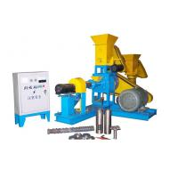 Cheap Dry Pet Food Extruder Animal Feed Pellet Machine Driven By 15KW Motor for sale