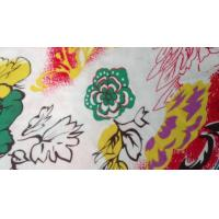 Cheap Novelty Silk Screen Printed Knit Fabric For Toy , Organic Cotton Voile Fabric for sale