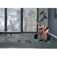 Cheap Cheap Price noise reduction Tile Interlocking EPDM rubber flooring mat for gym for sale