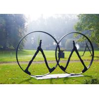 Buy cheap Western Style Couple Figure Bronze Outdoor Sculptures For Park Decor from wholesalers