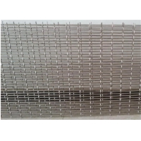Cheap Stone Filter Ss302 2.2m Width Galvanized Crimped Wire Mesh for sale