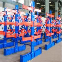 Cheap Warehouse High Capacity Cantilever Material Racks For Heavy Pipe / Lumber for sale