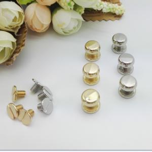 Cheap Environment Protective Handbag Metal Hardware , Brass / Cooper Pacifier Nail for sale