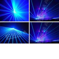 Cheap Single color 2W blue with SD card animation laser light programmable animation laser light for sale