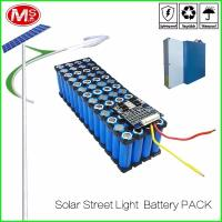 Cheap LifePO4 Cylindrical Lithium Ion Battery Pack / 12V 15Ah Solar Street Light Battery for sale