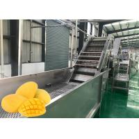 Cheap Food Grade Fruit Chips Making Machine 1500 T / Day Low Power Consumption for sale