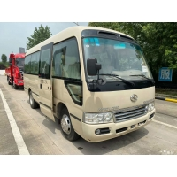 Cheap Diesel 19 Seat 2016 Year Kinglong 85kw Used Coach Bus for sale