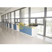 Cheap 2480 * 1830mm epoxy resin worktop matte surface durability , lab benches for sale