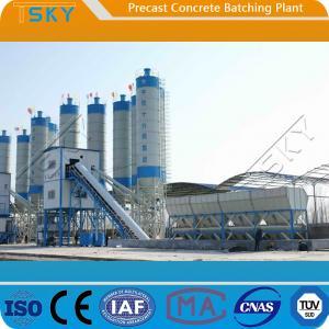 Cheap BP3000B Belt Conveyor Feeding 60m³/h Precast Batch Plant for sale