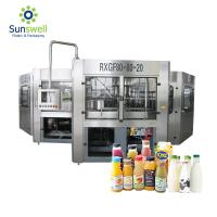 Cheap Reliable Liquid Juice Beverage Bottle Filling Machine Packaging Line Fully Automatic for sale