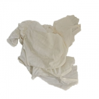Cheap Recycled White T Shirt Industrial Cotton Rags for sale