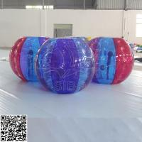 Cheap Colorful Pvc Inflatable Battle Bumper Ball Roll Giant Hamster Ball For People for sale