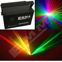 Cheap 6W Laser Show System RGB full color DJ Disco Stage Party DMX Light for sale