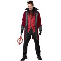 2016 costumes wholesale high quality fancy dress carnival sexy costumes for halloween party Prince of Darkness