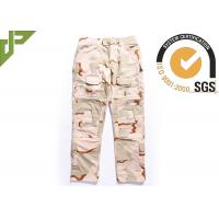 Cheap 3 Color Desert Military Tactical Pants with Stereo Pocket For Outdoor Traning for sale
