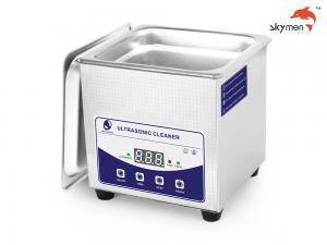 "Cheap SUS304 1.3 Liter Household Ultrasonic Cleaner 2.6"" Tank For Diamond Ruby for sale"
