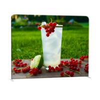Cheap Straight Curved Trade Show Backdrop Displays U Shape Pop Up Stand Easy Operation for sale