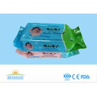 China Custom Sanitary Disposable Wet Wipes Antibacterial Environmentally Friendly on sale