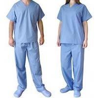 Buy cheap Convenient SBPP Non - Woven Disposable Scrub Suits 3 - Layer Fluid - Resistant from wholesalers