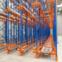 Buy cheap Heavy Duty High Density Pallet Racking System Steel Q235 Material ISO9001 from wholesalers