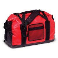 Cheap 65L Red Tarpaulin Waterproof Duffel Bag 1.3KG Weight For Cycling And Hiking for sale