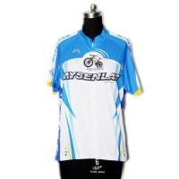 Cheap Light Breathable Material Road Cycling Jersey UV Protect For Fitness Workout for sale