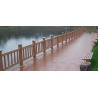 China Weather Resistant Plastic Lumber Composite Garden Decking , Easy Installation on sale