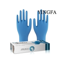 Cheap Nitrile gloves used in many fields use the good BUTYRONITRILE for sale
