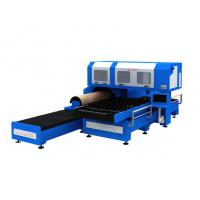 Quality 1500w 3 Phase CO2 Metal Laser Cutting Machine With Flat / Rotary Die Cutting wholesale