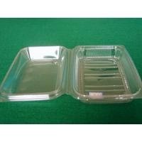 Cheap Eco Rectangle Food Grade Plastic Thermoforming Tray Custom For Food Packaging for sale