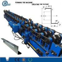 Galvanized Steel C Z Purlin Cold Roll Forming Equipment For Building Material Manufactures