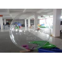 Cheap Pure 0.8mm pvc Dia 1.8m Kids Transparen Inflatable Balls Water Ball For Waterparks SGS for sale