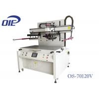 Buy cheap Large Format Flat Bed Screen Printing Machine With Four Pillar Support from wholesalers