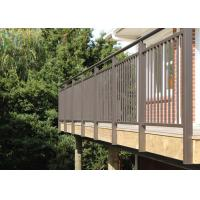Cheap Durability Aluminium Alloy Residential Railings with Customized Color for sale